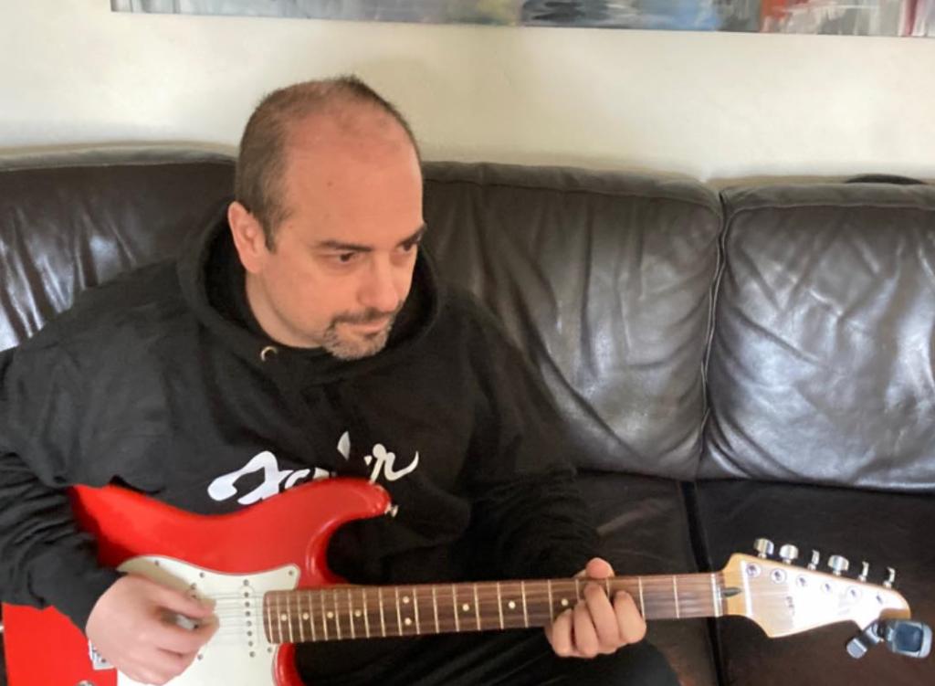 marco ilardi passione per la chitarra