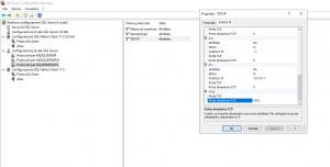 come modificare istanza predefinita localhost di sql server